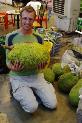 The jackfruit - try putting this in your lunchbox