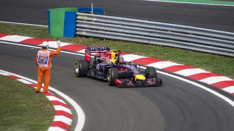 Daniel Ricciardo, winner of the 2014 Hungarian Grand Prix