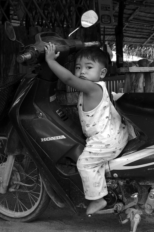 Baby biker, Koh Lipe