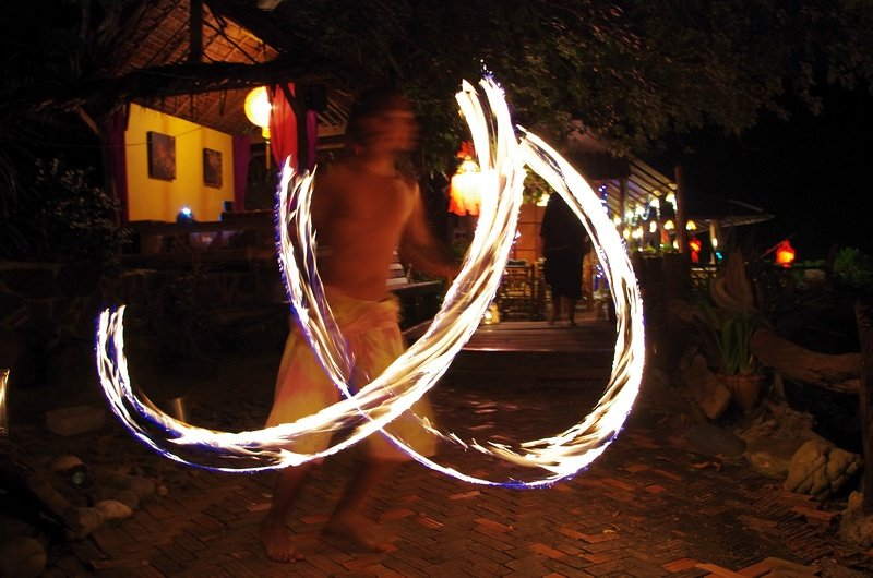 Firedancer at the Bamboo Bay Resort