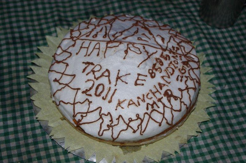 Mingma's Happy Trek Cake