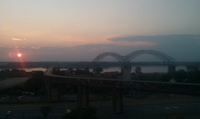 Bridge Over Mississippi in Memphis