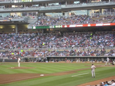 Batter at Target Field