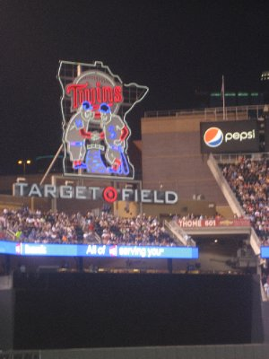 Twins Logo at Target Field