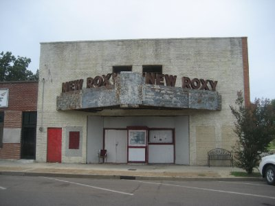 New Roxy Blues Joint... Open for special events.  Started being renovated in 2008 after sitting vacant since 1980's