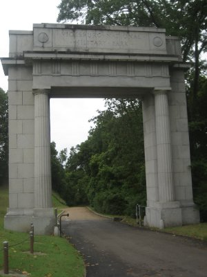 Vicksburg National Military Park Welcome