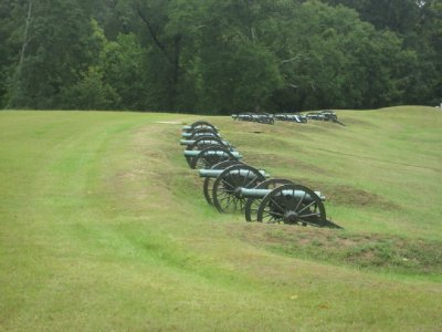 Vicksburg Cannon Battery