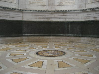 Floor of Illinois Monument at Vicksburg National Military Park