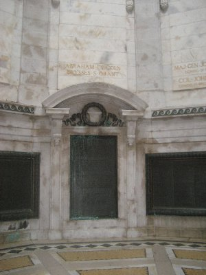 Inside of Illinois Monument