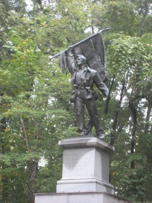 Rhode Island Regiment Monument at Vicksburg National Military Park