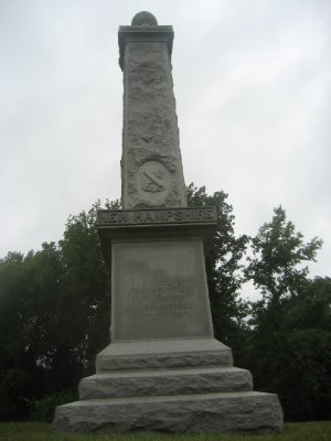 NH Regiment War Moment at Vicksburg National Military Park