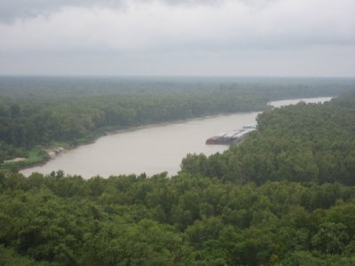 Mississippi River at Vicksburg National Park 3