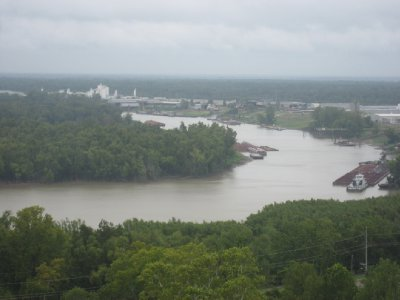 Mississippi River at Vicksburg National Military Park