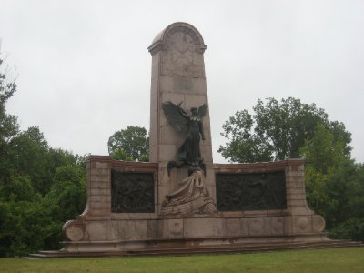 Missouri War Monument at Vicksburg National Military Park