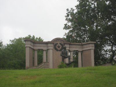 Texas War Monument at Vicksburg National Military Park