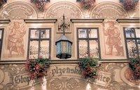 Facade along Ceska street, Brno