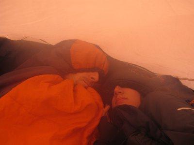 A cold night on Rinjani's Rim