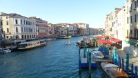 The Grand Canal, seen from the Rialto Bridge