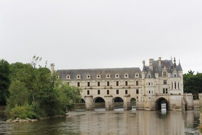 Chateau Chenonceau - Downstream