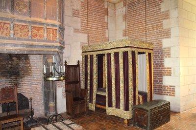 Chateau Chaumont-sur-Loire - Bedroom