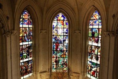 Chateau Chaumont-sur-Loire - Chapel Glass