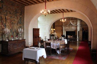 Chateau Chaumont-sur-Loire - Dining room