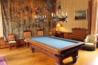 Chateau Chaumont-sur-Loire - Billiards Room