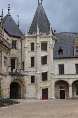Chateau Chaumont-sur-Loire - Courtyard
