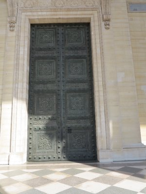 Pantheon - Huge Door