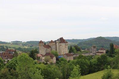 Castle in Curemonte