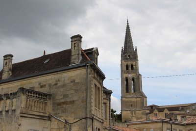 St Emilion - Monolithic Church