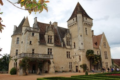 Chateau Milandes - Entrance