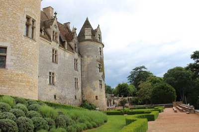 Chateau Milandes - Rear View
