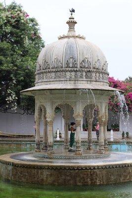 Fountain located at Sahelion ke Bari