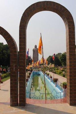 Sarnath - Buddha Statue