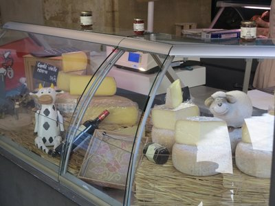 Sarlat - Cheese Stall