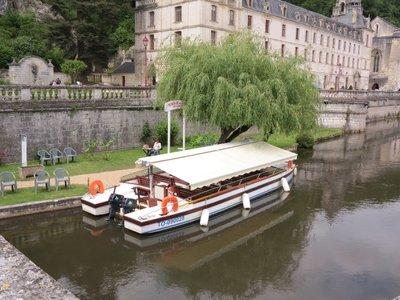 Brantome - Tour Boat