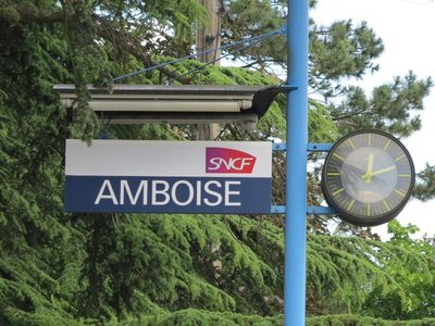 Amboise - Train Station Signs