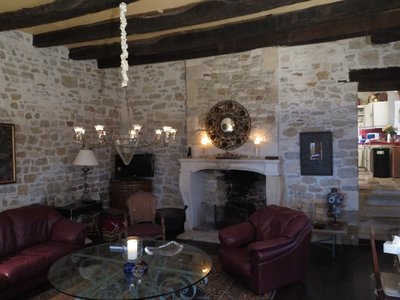 Turenne house - Living Room