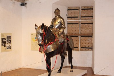Castelnaud - Armored horse