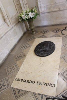 Amboise - Da Vinci's Tomb - St Hubert