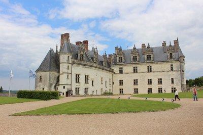 Amboise - Chateau view