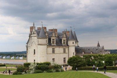 Amboise - Chateau Back view