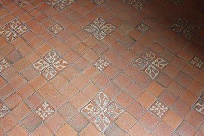 Amboise - Fleur De Lys floor tiles