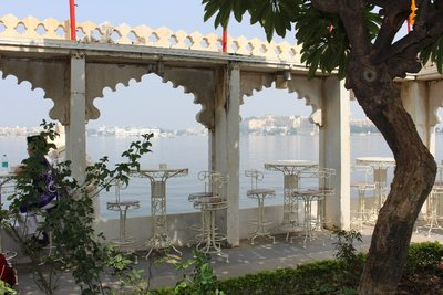 Udaipur lake palace view
