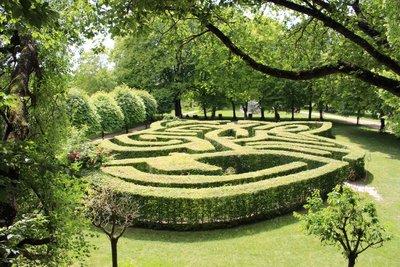 Chateau Rivau - Garden Maze
