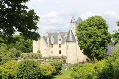 Chateau Rivau - Castle from treehouse