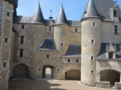Fougeres - Courtyard