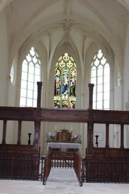 Chateau Usse - Chapel Inside
