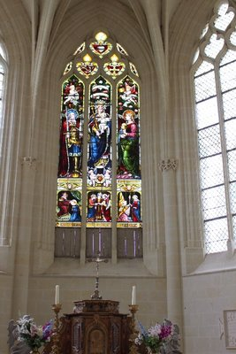 Chateau Usse - Chapel Windows